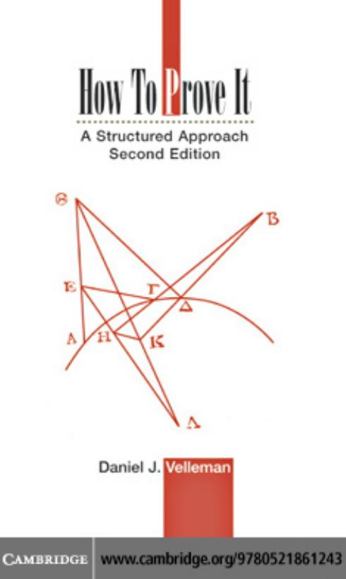 How to prove it a structured approach, 2nd edition daniel j.